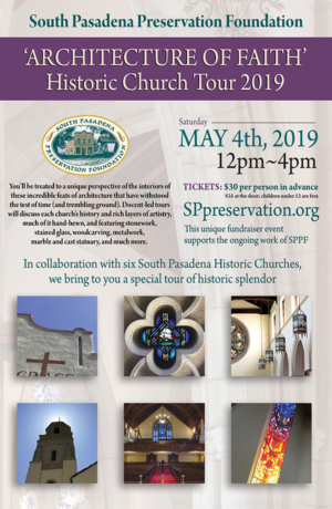 Church Tour South Pasadena May 2019 SPPF
